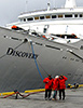 Discovery ready to board